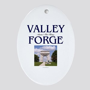 ABH Valley Forge Oval Ornament