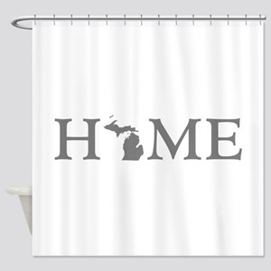 Michigan Home Shower Curtain