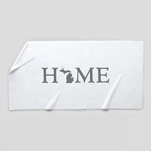 Michigan Home Beach Towel