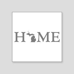 """Michigan Home Square Sticker 3"""" x 3"""""""