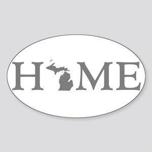 Michigan Home Sticker (Oval)