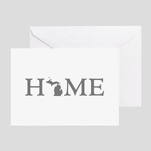 Michigan Home Greeting Card