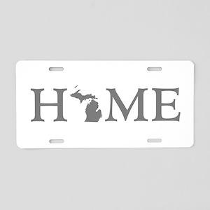 Michigan Home Aluminum License Plate