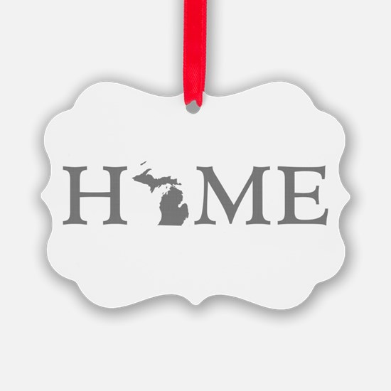 Michigan Home Ornament