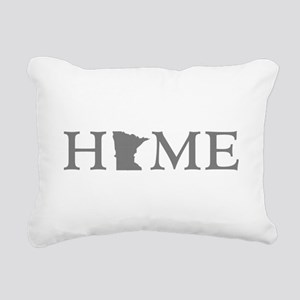 Minnesota Home Rectangular Canvas Pillow
