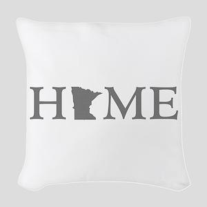 Minnesota Home Woven Throw Pillow