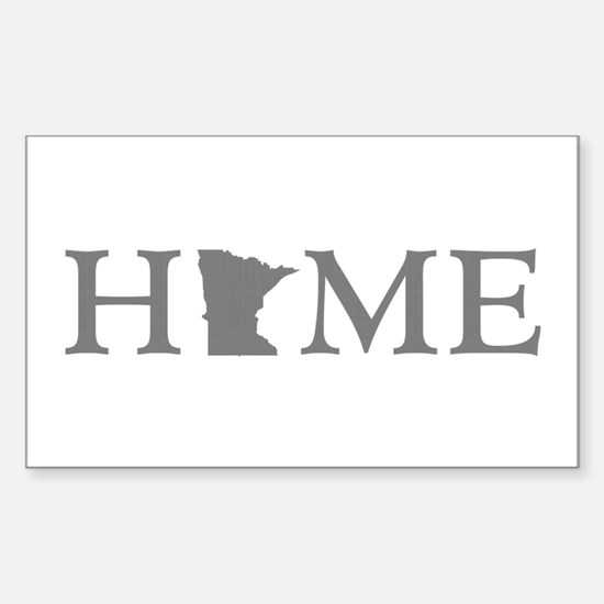 Minnesota Home Sticker (Rectangle)