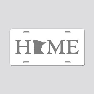 Minnesota Home Aluminum License Plate