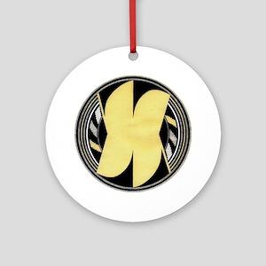 MIMBRES ORANGE BOWL DESIGN Ornament (Round)