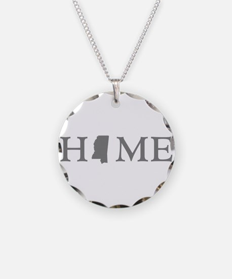 Mississippi Home Necklace