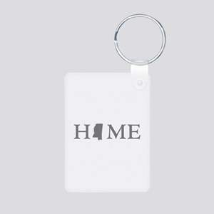 Mississippi Home Aluminum Photo Keychain