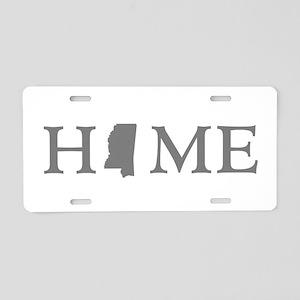 Mississippi Home Aluminum License Plate