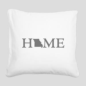 Missouri Home Square Canvas Pillow