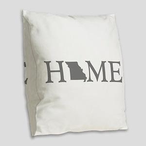 Missouri Home Burlap Throw Pillow