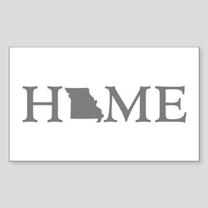 Missouri Home Sticker (Rectangle)