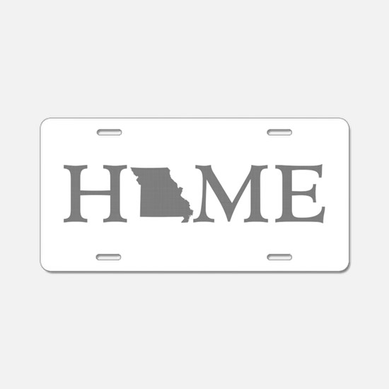 Missouri Home Aluminum License Plate