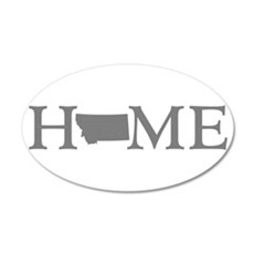 Montana Home Wall Decal