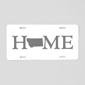 Montana Home Aluminum License Plate