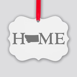 Montana Home Picture Ornament