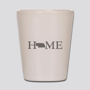 Nebraska Home Shot Glass