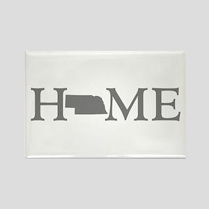 Nebraska Home Rectangle Magnet