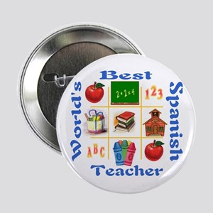 Spanish teacher Button