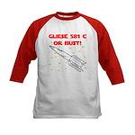 Gliese 581 c Kids Baseball Jersey