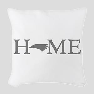 North Carolina Woven Throw Pillow
