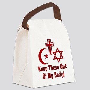 War On Women Canvas Lunch Bag