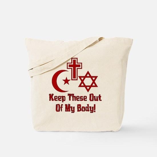 War On Women Tote Bag
