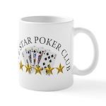 Five Star Poker Club Mugs
