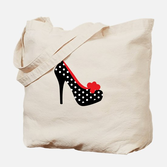 High Heels Lady Shoes Tote Bag
