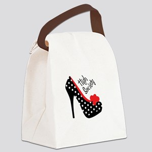 High Society Canvas Lunch Bag
