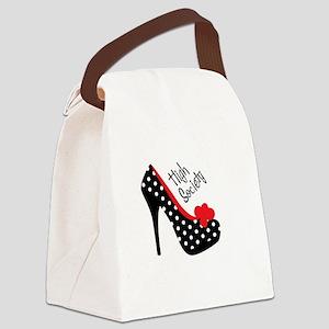 High Society Canvas Lunch Bag