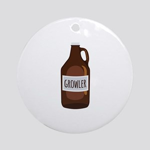Growler Ornament (Round)