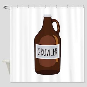 Growler Shower Curtain