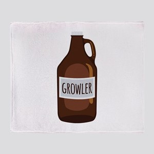 Growler Throw Blanket