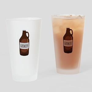 Growler Drinking Glass