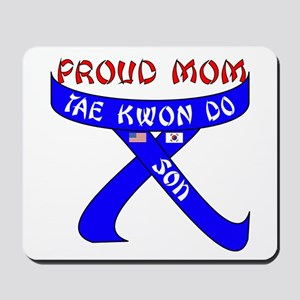 TKD Mom Son Mousepad