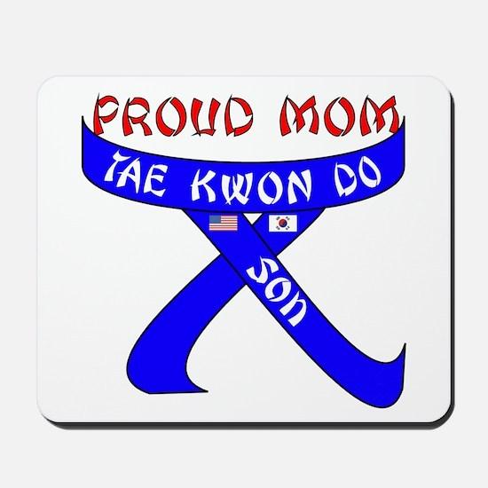 TKD Mom Son Mousepad