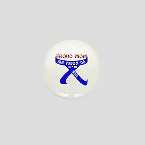 TKD Mom Son Mini Button