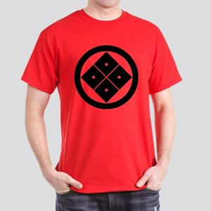 Tilted four-square-eyes in circle Dark T-Shirt
