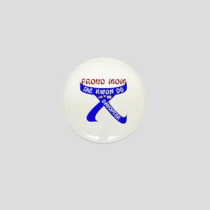 TKD Mom Daughter Mini Button