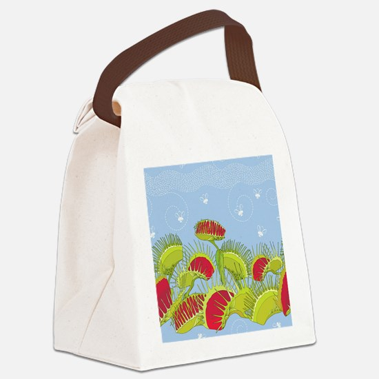 Unique Fly Canvas Lunch Bag