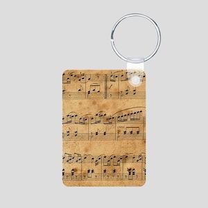 Sheet Music, Vintage, Keychains