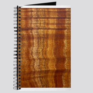 Curly Koa, Wooden, Journal