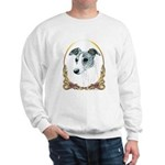 Brindle Whippet Holiday/Xmas Sweatshirt