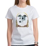 Brindle Whippet Holiday/Xmas Women's T-Shirt
