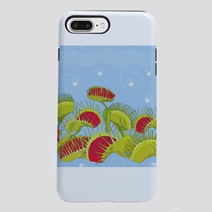 blue fly trap iPhone 7 Plus Tough Case