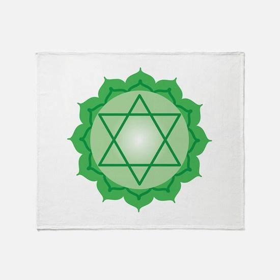 Blank Six-Point Star Throw Blanket